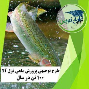 طرح توجیهی پرورش ماهی قزل آلا 100 تن